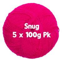 Snug DK - Magenta 5 x 100gm Pk