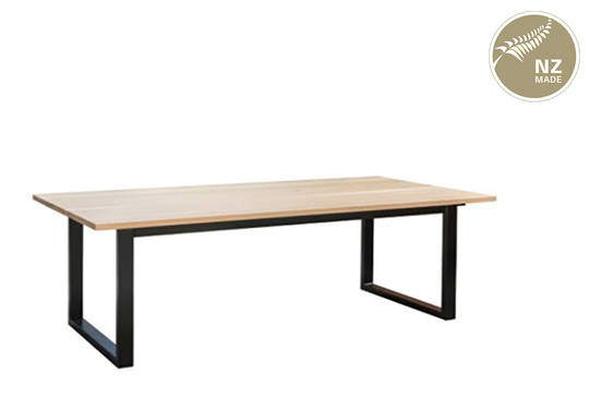 Thorndon Square Base 2200mm Table & Barleaner