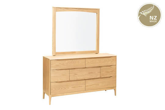 Havelock 7 Drw Dresser & Mirror