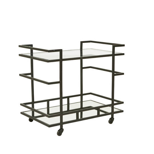 Vionnet Deco Bar Cart