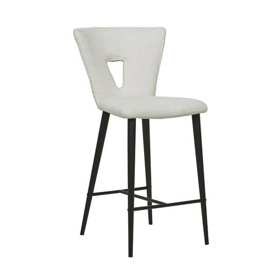 Dahlia Barstool -Natural White