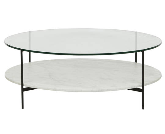 Clermont Layer Marble Coffee Table