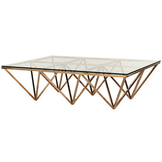 Elle Rectangular Eiffel Coffee Table