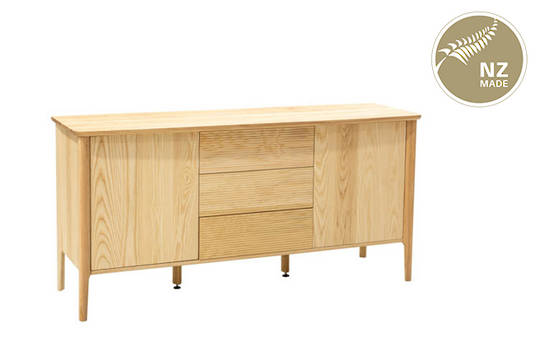 Finn 1700 Buffet - 2 Door / 3 Drawer