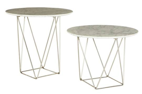 Como Side Table Small Marble