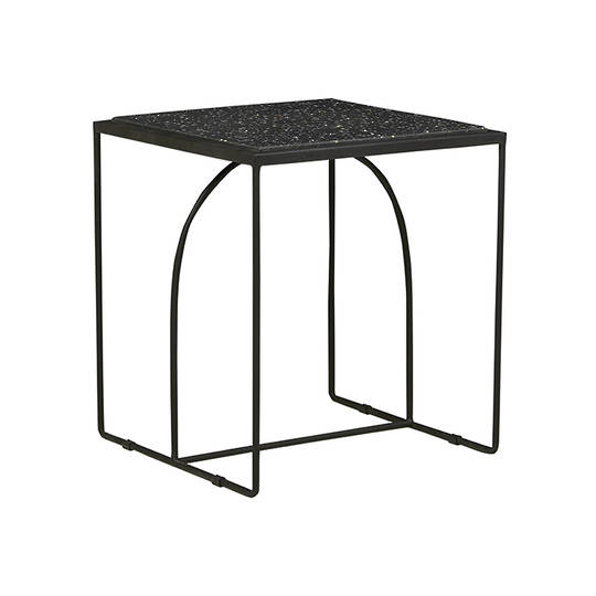 Brigette Arch Side Table-Black