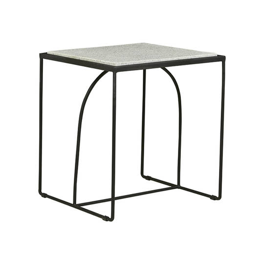 Brigette Arch Side Table-Black