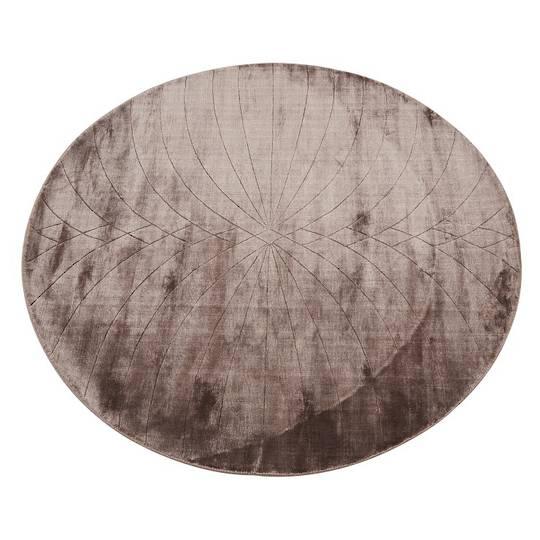 Adele Oval 1.7x1.4m-Burgundy