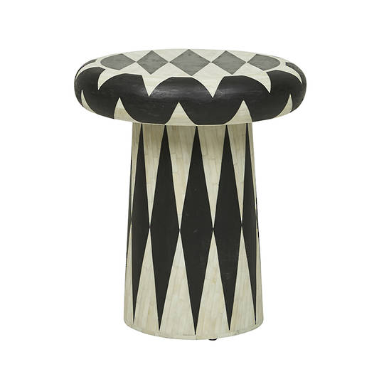 Taj Tribal Stool