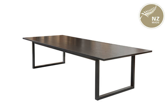 Thorndon Square Base CUSTOM SIZE Table & Barleaner
