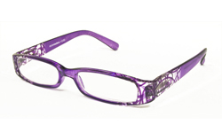 Purple ready made reading glasses 2