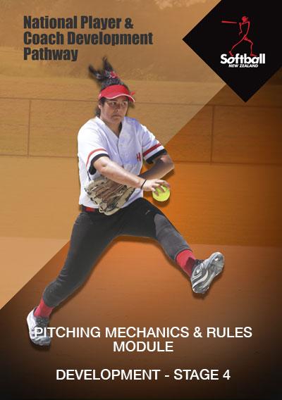 Pitching mechanics & rules graphic