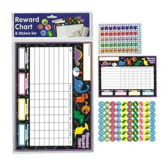 Reward Chart Dinosaurs