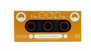 Fingears Black Orange Medium