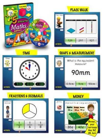 5 Interactive Maths Games