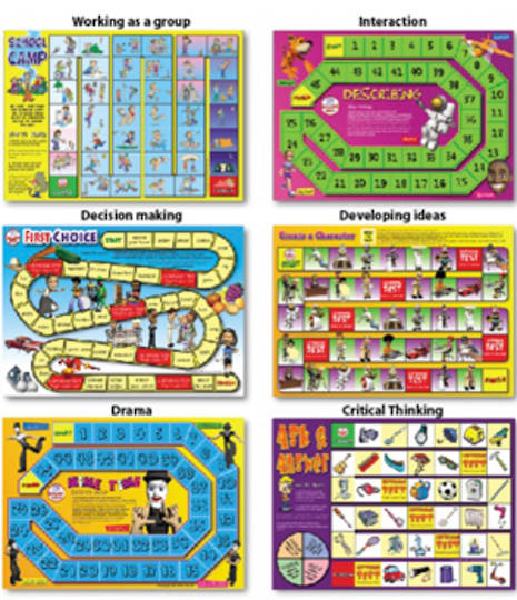 6 Speaking & Listening Board Games