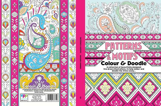 Patterns & Motifs Colour and Doodle