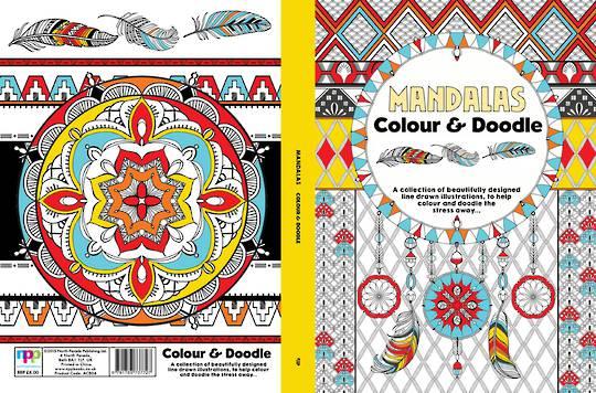 Adult Colouring - Mandalas Colour & Doodle