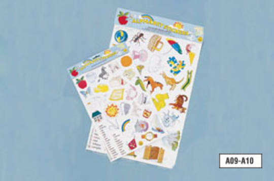Alphabet Stickers (A3 Size)
