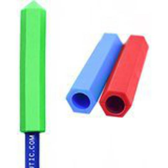 Chewable  Pencil Topper (Soft) - Red
