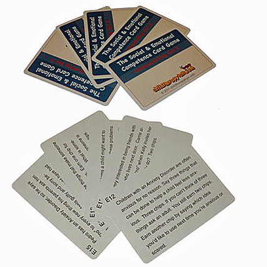 The Social and Emotional Competence Game Depression Cards