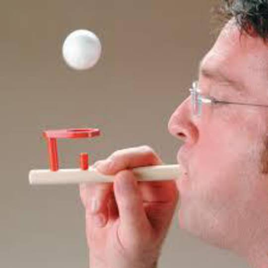 Wooden Ball Blower