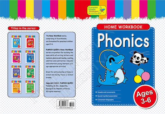 Home Workbook - Phonics