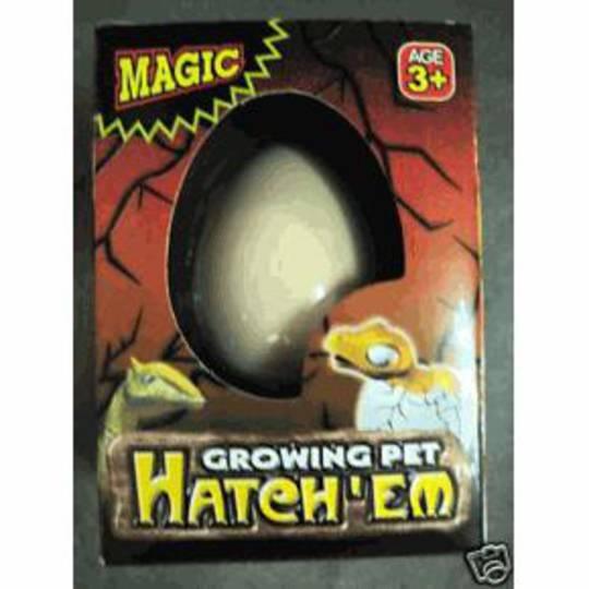 Growing Pet Hatch Em  Dinosaur