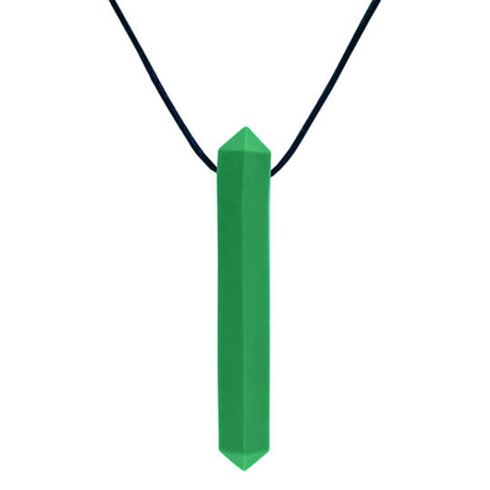 Krypto-Bite™ Chewable Gem Necklace (Forest Green) Xtra Tough