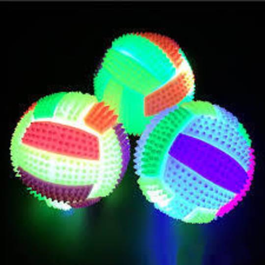 LED light up bouncy ball