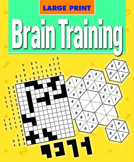 Large Print Brain Training