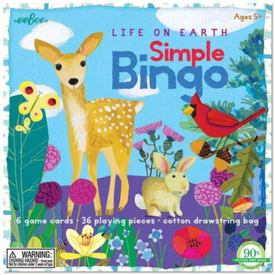 Life on Earth Simple Bingo