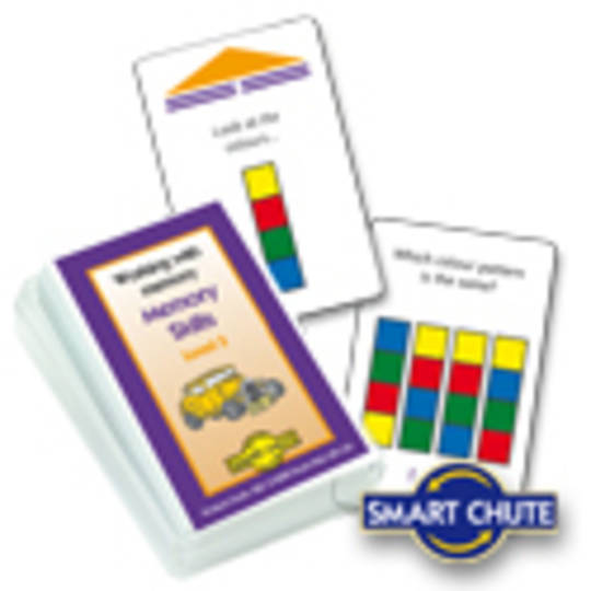 Working With Memory - Memory Skills Level 3 -Smart Chute Cards