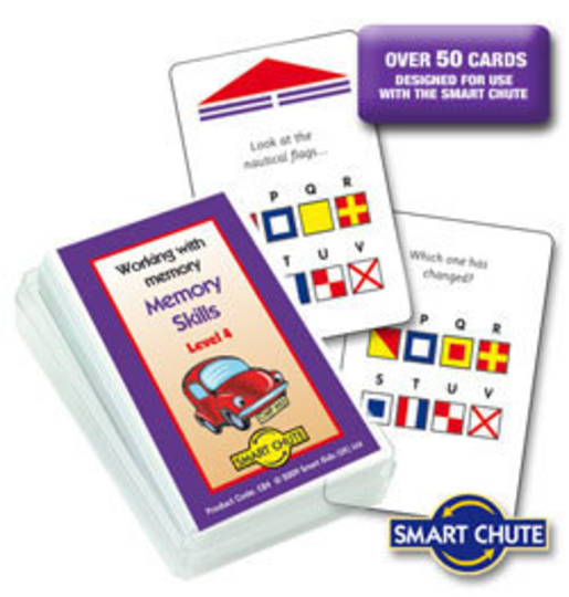 Working With Memory - Memory Skills Level 4 - Smart Chute Cards