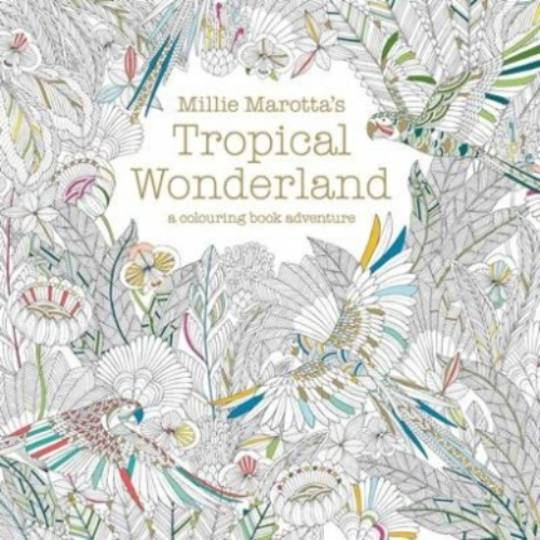 Adult Colouring - Millie Marotta's Tropical Wonderland
