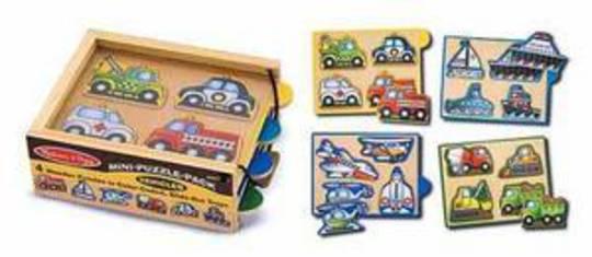 Mini Puzzle Pack - Vehicles