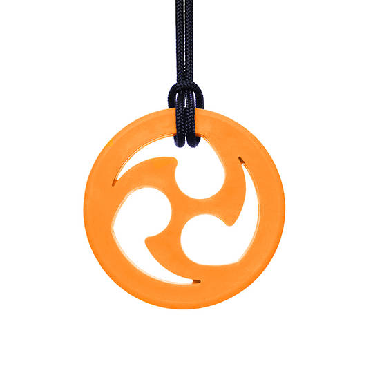 Ninja Star Chewable Jewelry Orange (XXT)