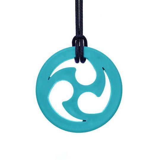 Ninja Star Chewable Jewelry Teal (XT)