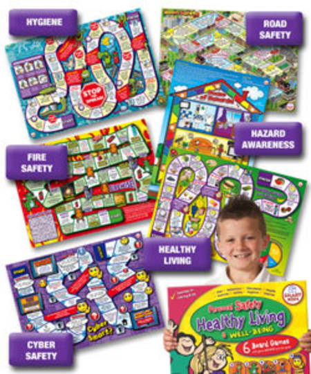 Personal Safety & health Board Games