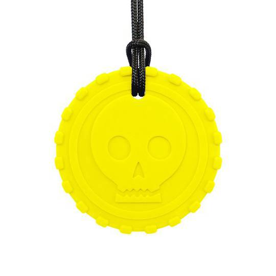 Pirate Coin Chew Necklace