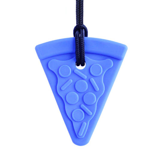 Pizza Chew Necklace - Royal Blue (Toughest)