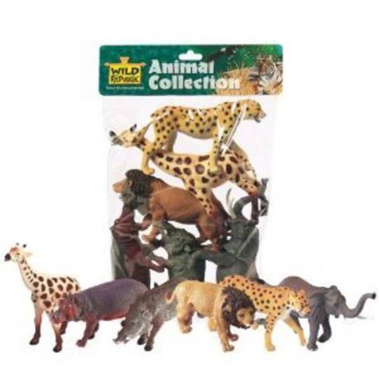 Polybag of Wild Animals