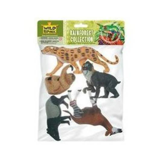 Polybag of Rainforest Animals