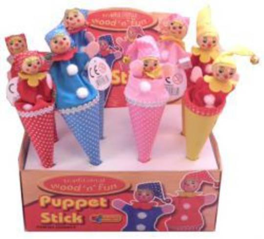 Wooden Puppet Stick