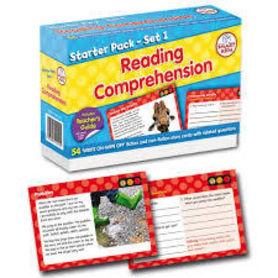 Reading Comprehension Pack 1