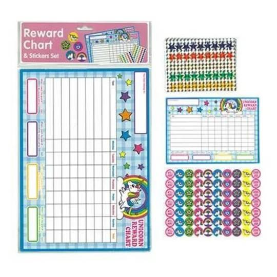 Reward Chart Unicorns