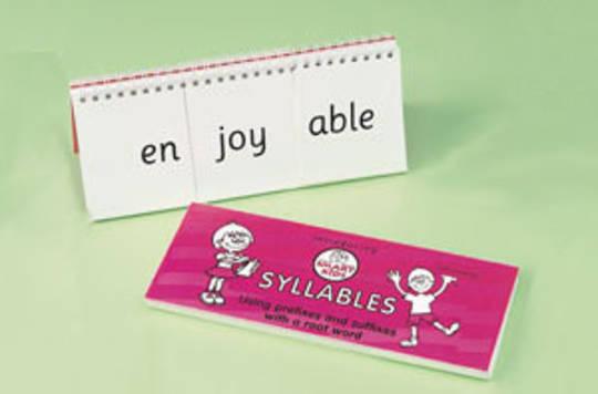 Syllables - Flip Book