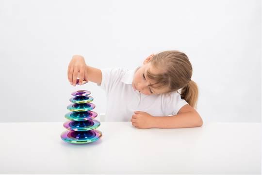 Sensory Reflective Colour Burst Buttons
