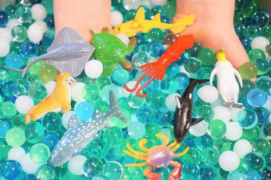 Ocean Explorers Tactile Sensory Kit - 24 Sea Animal Creatures