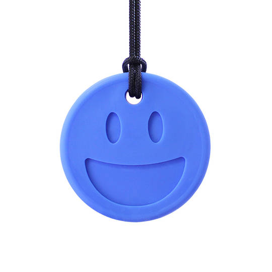 Smiley Face Chewelry Royal Blue - XXT